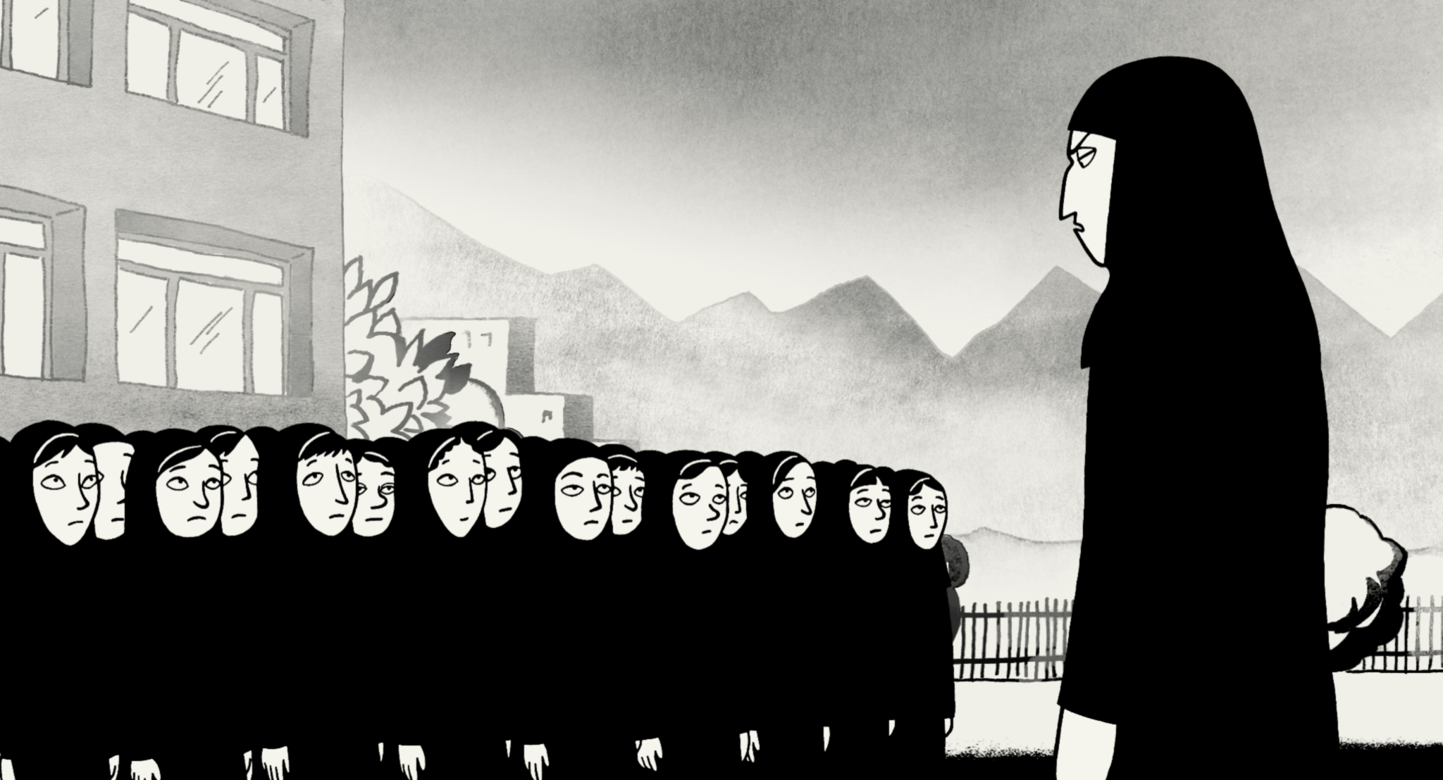 persepolis perceptions of the veil It's a chance for a western audience to see beyond 'the veil' (as it's often referred to) of iranian culture and see the sorts of real people that live there, as well as a chance to view western culture through the eyes of an outsider.